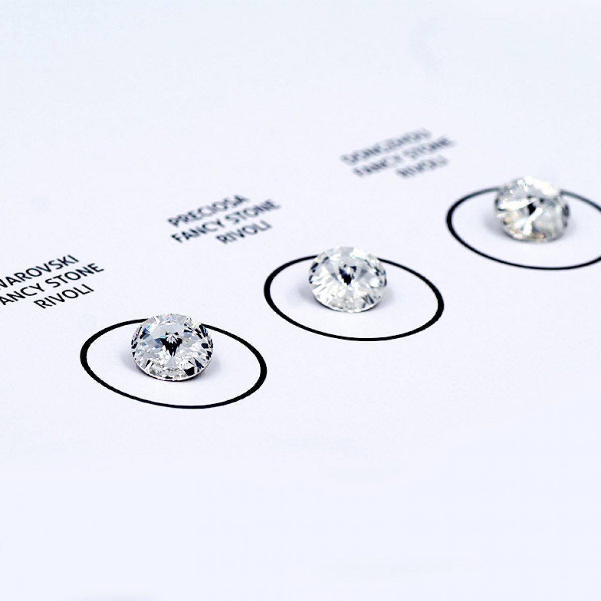 Markenkristalle im Direktvergleich: Swarovski vs. Preciosa vs. Dongzhou